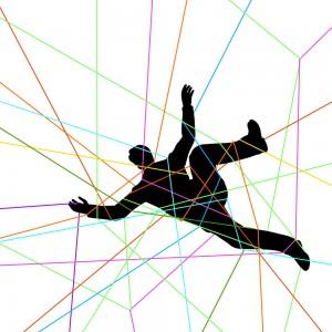The netmonger is hopelessly caught in the web