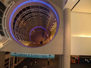The San Diego Convention Center. Hallowed halls.