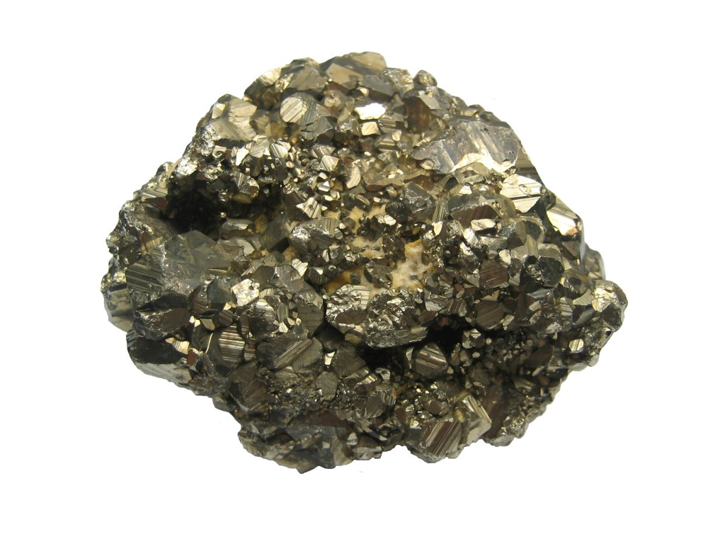 Pyrite or fool's gold. This is a metaphor. Only a fool would take citation counts as a gold standard of scientific merit. It does happen, as there are a lot of fools out there.